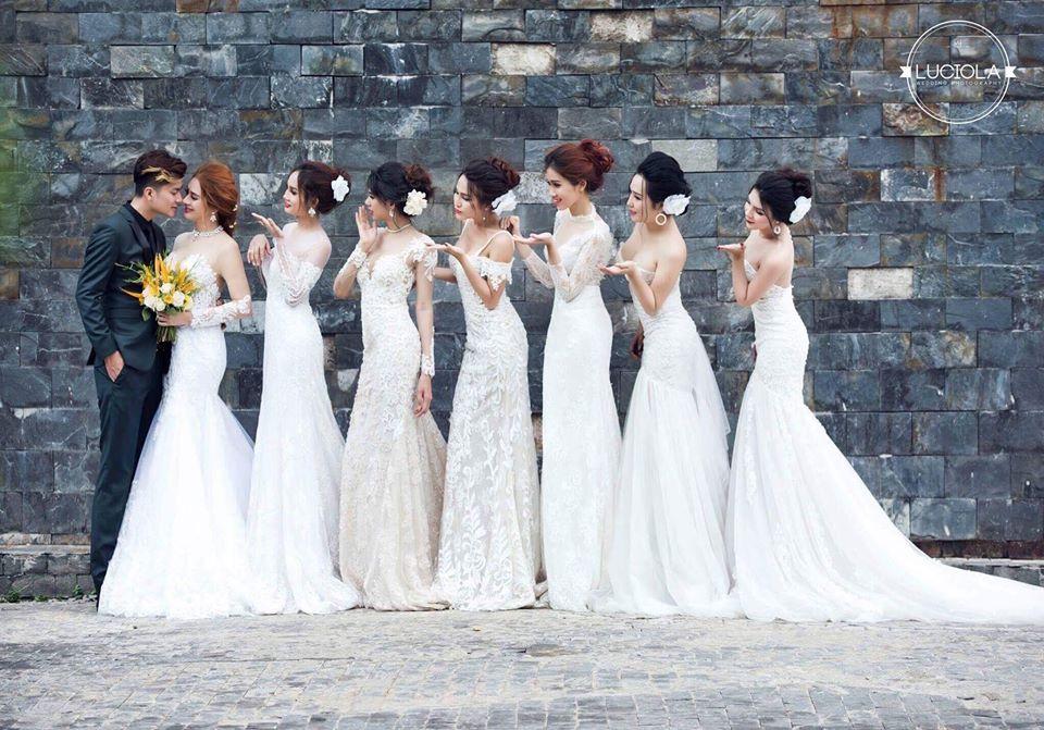Hé lộ bộ ảnh cưới đẹp lung linh của Lâm Khánh Chi - 3
