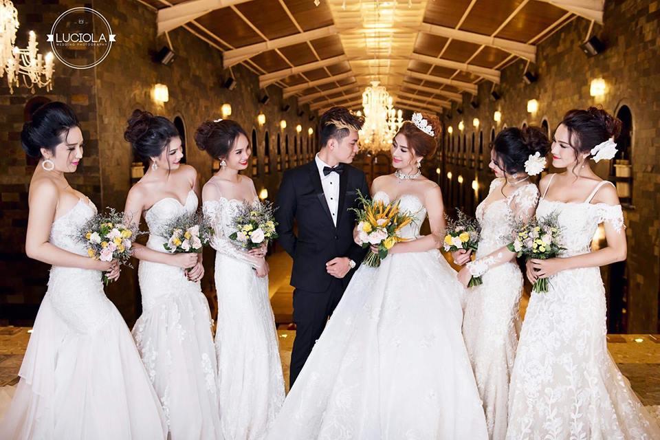 Hé lộ bộ ảnh cưới đẹp lung linh của Lâm Khánh Chi - 5