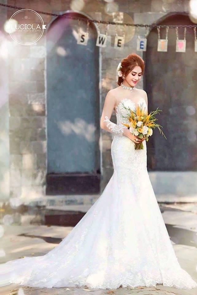Hé lộ bộ ảnh cưới đẹp lung linh của Lâm Khánh Chi - 6