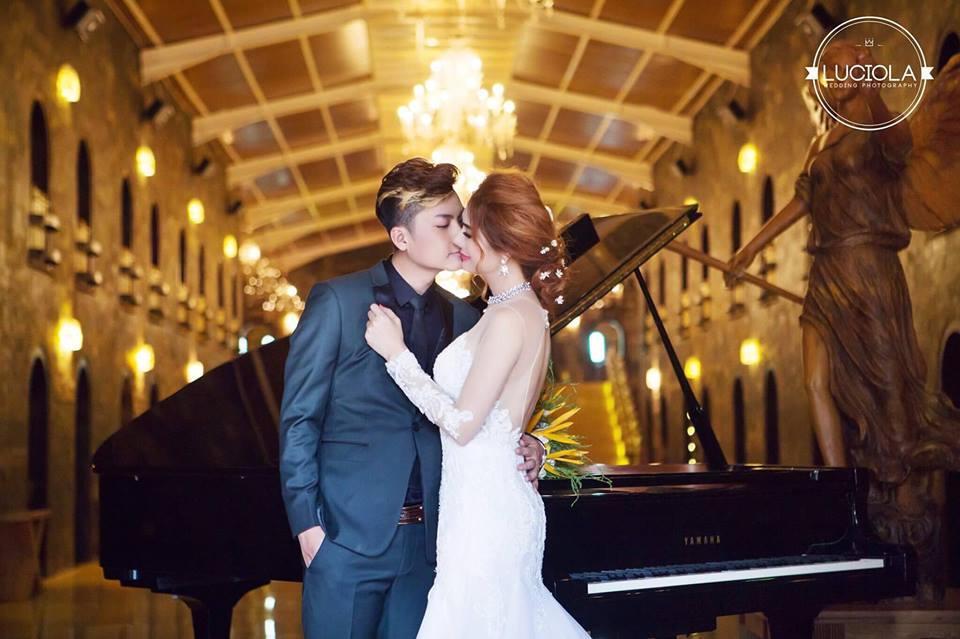 Hé lộ bộ ảnh cưới đẹp lung linh của Lâm Khánh Chi - 7