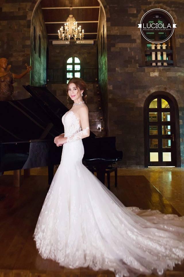 Hé lộ bộ ảnh cưới đẹp lung linh của Lâm Khánh Chi - 9