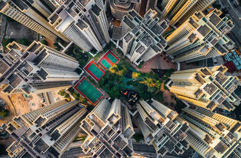 Những tòa cao ốc Hồng Kông nhìn từ trên... trời - 2