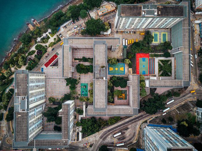 Những tòa cao ốc Hồng Kông nhìn từ trên... trời - 9