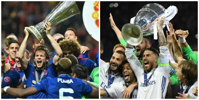 """Thuyết âm mưu: MU đụng Real 5 lần/mùa, UEFA """"vớ bẫm"""" - 1"""
