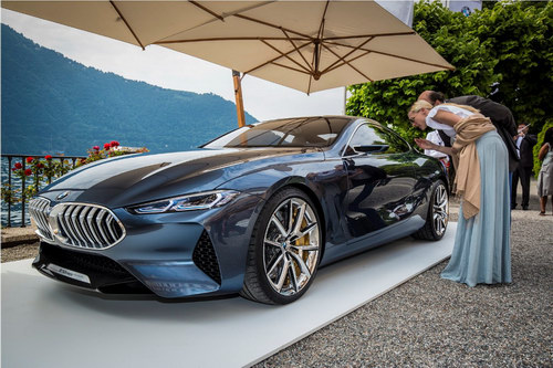 Chiêm ngưỡng BMW 8-Series Concept tuyệt đẹp ngoài đời thực - 4
