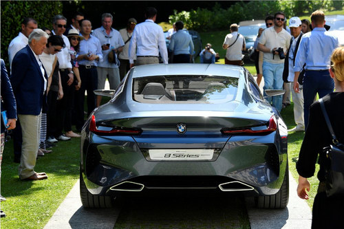 Chiêm ngưỡng BMW 8-Series Concept tuyệt đẹp ngoài đời thực - 5