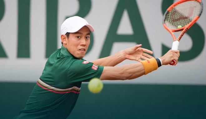 Roland Garros ngày 8: Nishikori vất vả đi tiếp, Raonic bị loại - 2