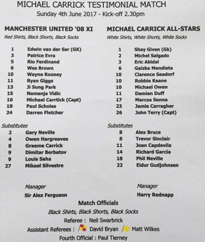 MU Carrick – All Stars: Huyền thoại đãi đại tiệc - 2