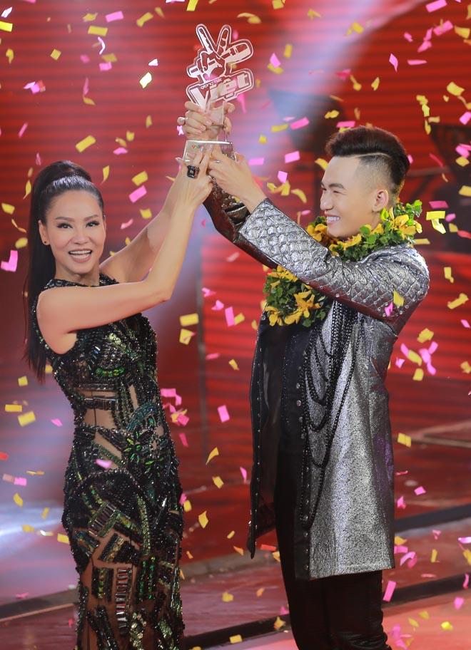 Thu Minh lần thứ 2 giúp học trò đăng quang tại The Voice - 1