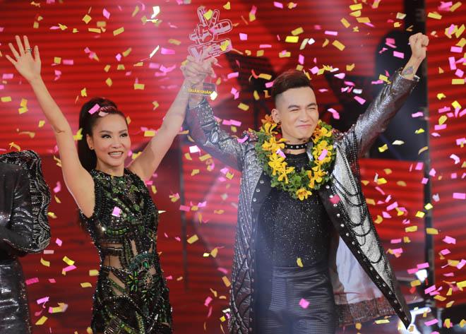 Thu Minh lần thứ 2 giúp học trò đăng quang tại The Voice - 2