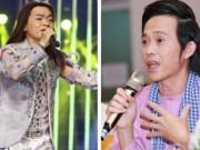 """Minh Thuận  """" trở về """"  trên sân khấu khiến Hoài Linh xúc động"""