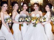 Hé lộ bộ ảnh cưới đẹp lung linh của Lâm Khánh Chi