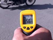 Sốc: Nhiệt độ mặt đường Hà Nội gần 60 độ C trong đợt nóng kỷ lục