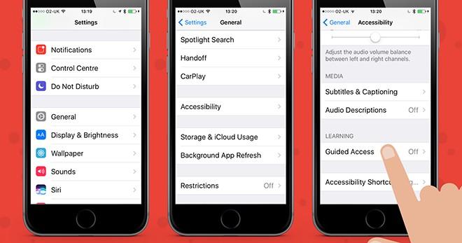 Thủ thuật giúp khóa ứng dụng trên iPhone - 1