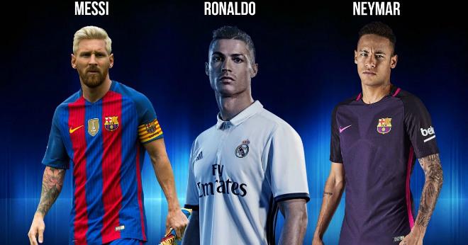 "Đội hình tiêu biểu cúp C1: ""Rực rỡ"" Ronaldo, Messi, Neymar - 1"