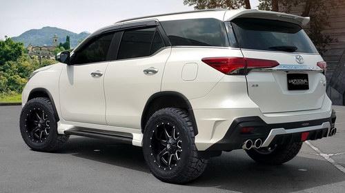 Ngắm Toyota Fortuner mạnh mẽ với gói độ Vazooma-X - 2