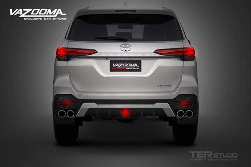 Ngắm Toyota Fortuner mạnh mẽ với gói độ Vazooma-X - 4