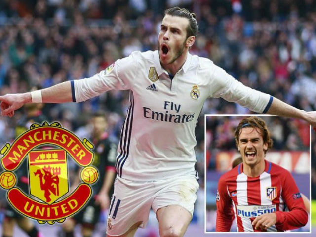"Griezmann, Bale, Neymar từ chối MU: Mourinho ""ế"" 400 triệu bảng"
