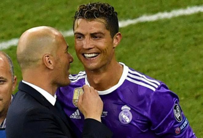 """Real vô địch cúp C1: Ronaldo lộ bí quyết """"lột xác"""" nhờ Zidane - 1"""
