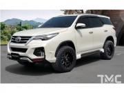 Tư vấn - Ngắm Toyota Fortuner mạnh mẽ với gói độ Vazooma-X