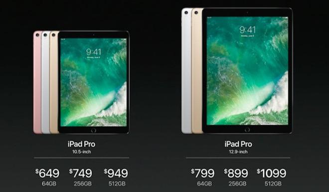 iPad Pro 2017 trình làng, có thêm phiên bản retina 10,5 inch - 1