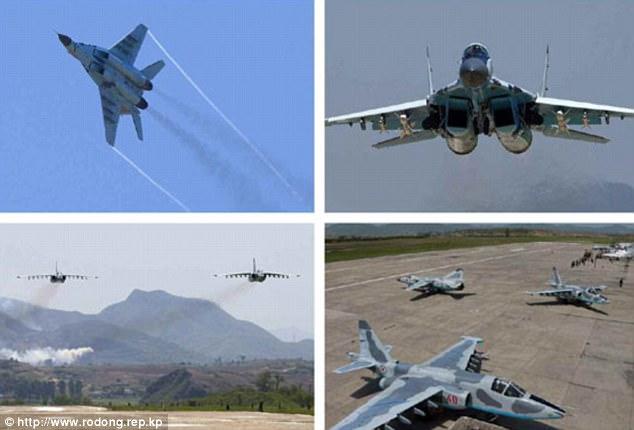 Không quân Triều Tiên rầm rộ tập bắn phá tàu sân bay - 6