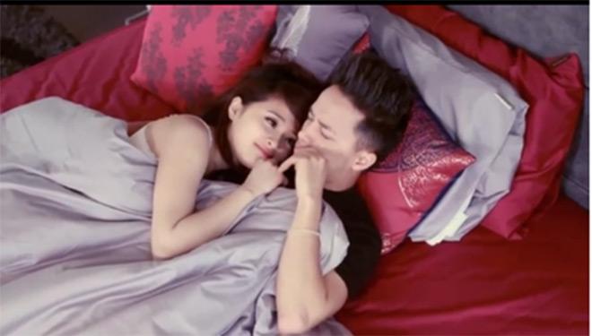 """Hotgirl Ngọc Miu """"biến hóa"""" trong MV của Đan Trường, Cao Thái Sơn - 11"""
