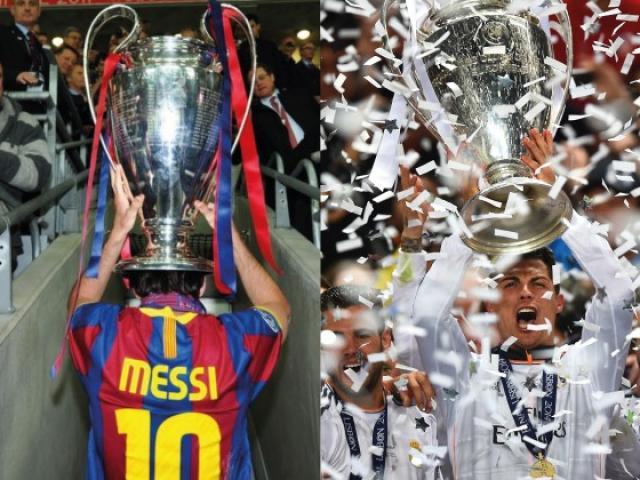Siêu sao 4 lần vô địch cúp C1: Ronaldo