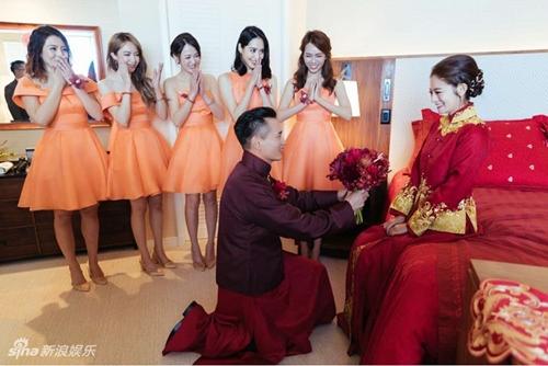 Mỹ nữ Tây Du Ký say đắm hôn tỷ phú USD trong lễ cưới chính thức - 15