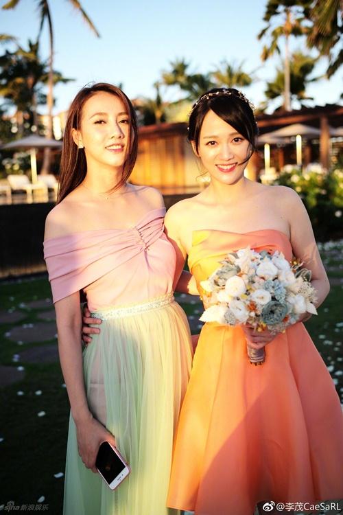 Mỹ nữ Tây Du Ký say đắm hôn tỷ phú USD trong lễ cưới chính thức - 7