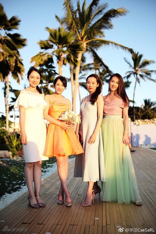 Mỹ nữ Tây Du Ký say đắm hôn tỷ phú USD trong lễ cưới chính thức - 8