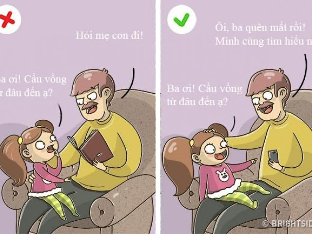 Nếu ngăn cấm 9 điều này, cha mẹ đừng mong con tự tin và thông minh