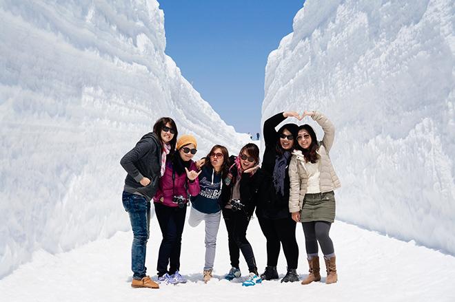 Khám phá con đường tuyết trắng giữa mùa hè tại Nhật Bản - 2