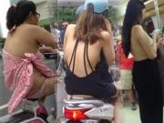 Xây xẩm mặt mày nhìn thiếu nữ Singapore mặc mát mẻ ngày hè