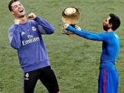 """Bóng đá - Đua Bóng vàng: Messi trả giá vì """"chọc giận"""" Ronaldo"""