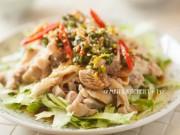 Ẩm thực - Salad gà ngọt mát cho mùa hè