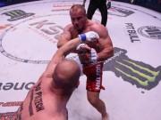 """Thể thao - MMA: Lực sĩ khỏe nhất hành tinh đo ván """"thánh knock-out"""""""