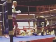 Thể thao - Boxing: Đánh võ sĩ bay khỏi sàn, cú đấm ngàn cân có thật