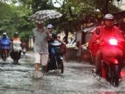 """Tin tức trong ngày - Ảnh: Người Hà Nội sung sướng đi dưới """"mưa vàng"""""""