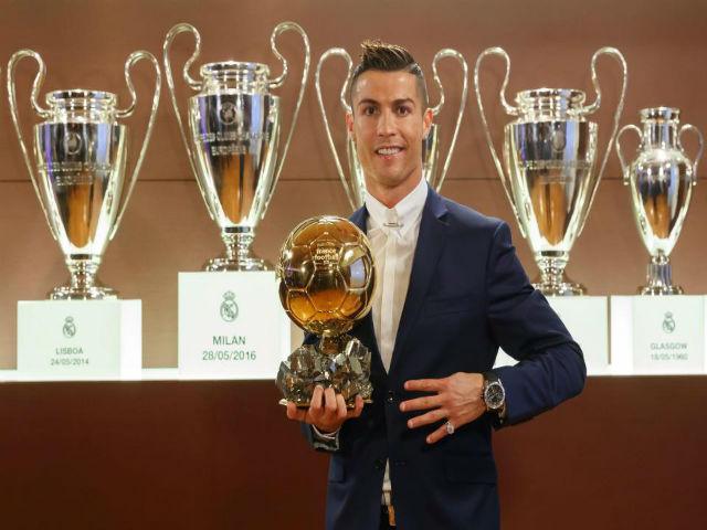 Ronaldo vô địch cúp C1: Tiền vào như nước, sắp thành tỷ phú
