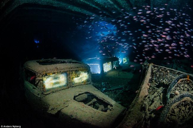 """""""Nín thở"""" đột nhập xác tàu đắm dưới đáy biển sâu - 2"""