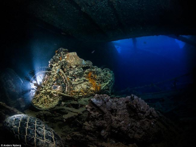 """""""Nín thở"""" đột nhập xác tàu đắm dưới đáy biển sâu - 7"""