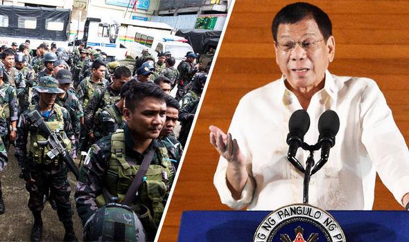 Ông Duterte hạ lệnh nghiền nát khủng bố IS ở Marawi - 1