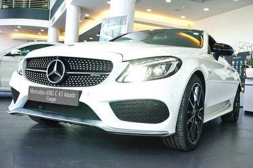 Mercedes-AMG C43 4Matic Coupe giá 4,2 tỷ đồng tại Việt Nam - 2