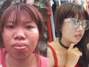 """3 nhan sắc  """" Thị Nở tái sinh """"  gây choáng váng nhất Việt Nam"""