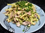 Ẩm thực - Bồn bồn xào thịt, món ăn dân dã quê nhà
