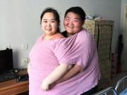 """Cặp đôi nặng 400kg giảm 200kg để """"quan hệ"""" và sinh con"""