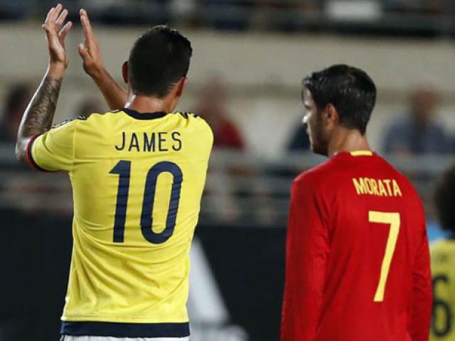 Chuyển nhượng Real: Morata & James vẫn là đồng đội