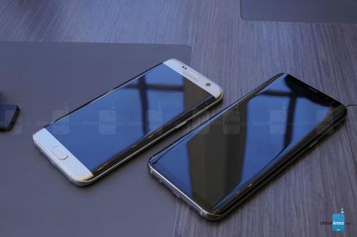 """""""Hai anh em"""" Galaxy S8+ và Galaxy S7 Edge có gì khác? - 2"""
