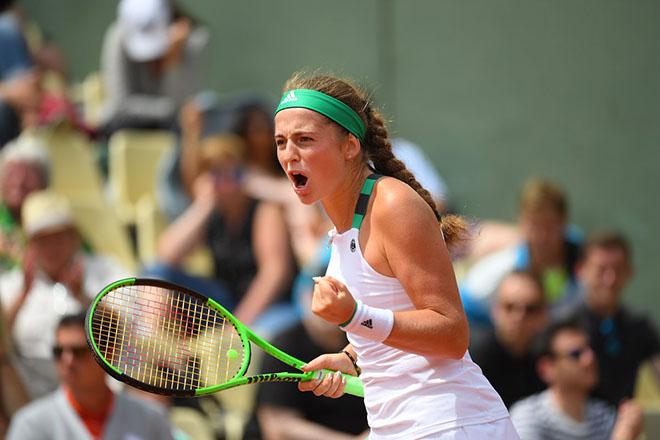 Ostapenko - Bacsinszky: Giằng co nghẹt thở, cảm xúc vỡ òa (BK Roland Garros) - 1